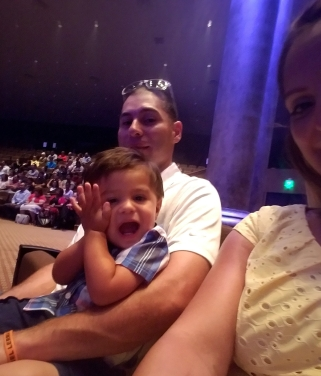 At Grace church with my loves